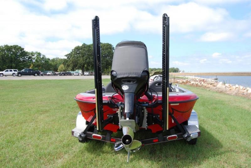 power pole bracket for skeeter bass fishing texas ForPower Pole Fishing