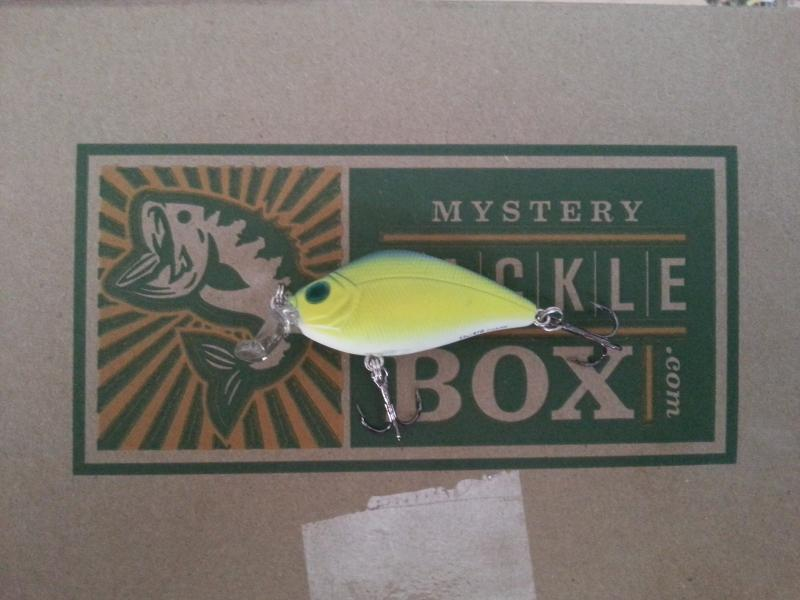 Mystery tackle box its here pic heavy kayak for Fishing mystery box