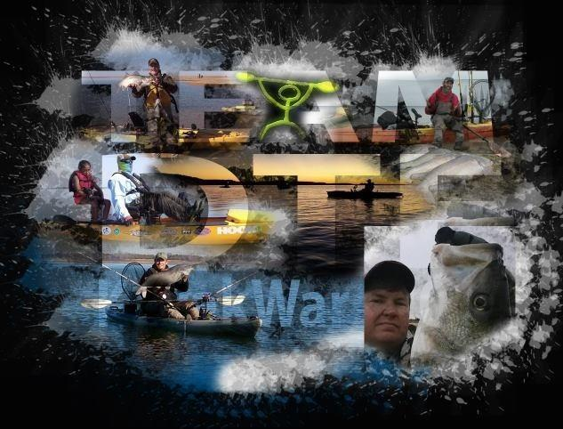 Kayak wars what are your team names and who are your for Fishing team names