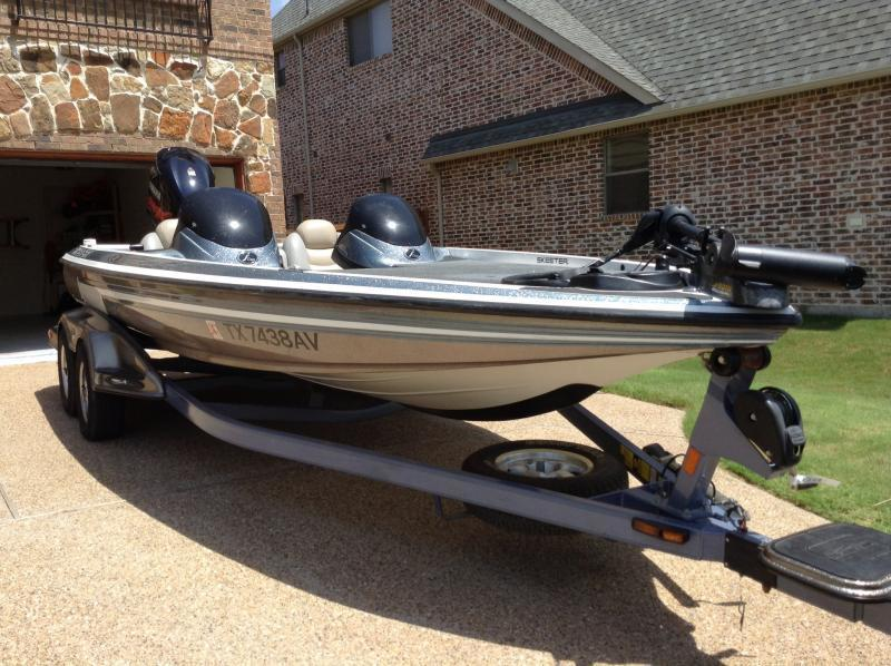 2007 skeeter 20i bass boat w 250 yamaha motor boats 4 for Texas fishing forum boats for sale