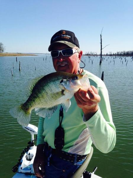 Crappie time on lake fork crappie fishing texas for Best crappie fishing times