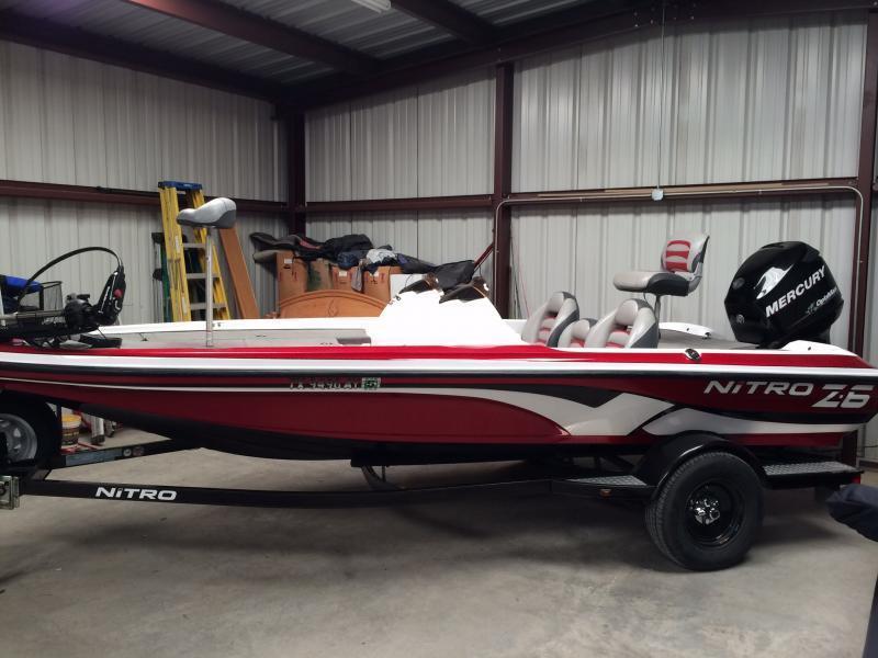 2008 Nitro Z6 W/115hp Mercury Optimax $13000 | Boats 4 Sale | Texas ...