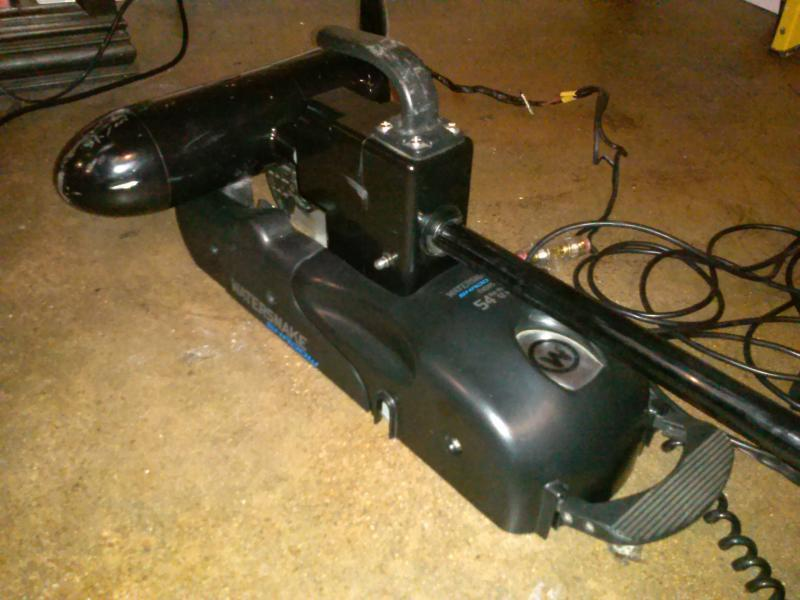200 Obo 54lb 54inch 12volt Foot Controlled Trolling