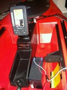 ride 115x fish finder install kayak fishing texas fishing forum