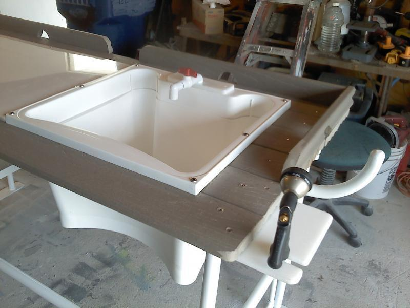 Fish cleaning table open saltwater discussion texas for Fish cleaning tables