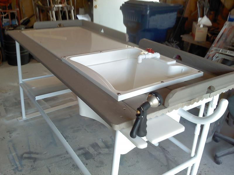 Fish cleaning table trading post swap classifieds for Fish cleaning board
