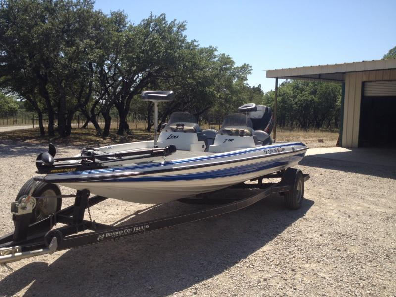 2000 z19 zuma bass boat for sale boats 4 sale texas