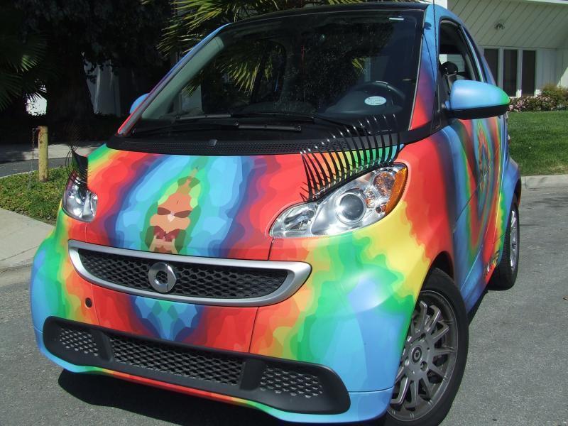Car Eyelashes: Eyelashes On Car Headlights