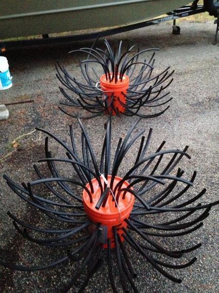 Sharing brush piles crappie fishing texas fishing forum for Homemade fish structure