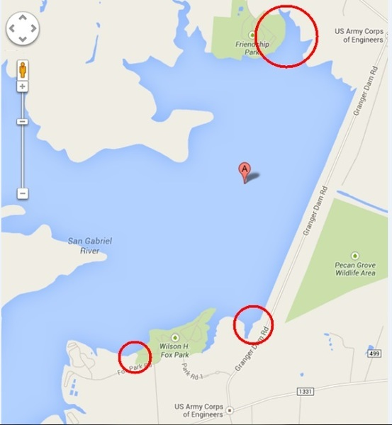 Granger lake tips catfishing texas fishing forum for Fishing spots in austin tx