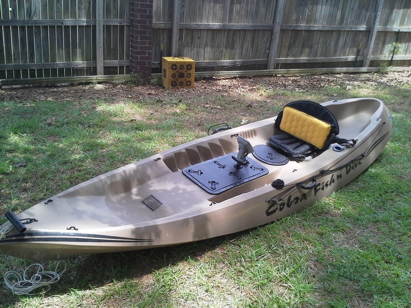 Cobra fish n dive kayak for sale yakkers classifieds for Fishing kayaks for sale cheap