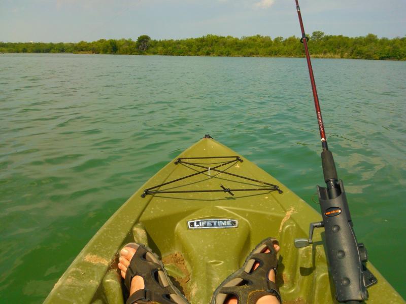 Lifetime tamarack angler 120 kayak fishing texas for Tamarack fishing kayak