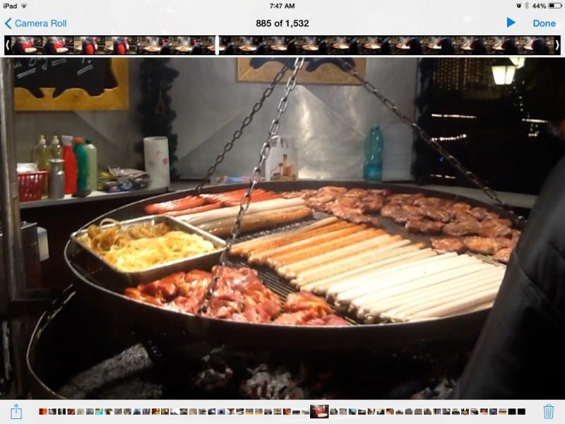Swinging grill coburg germany