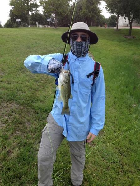 First fish on a fly that i tied fly fishing texas for Corpus fishing forum