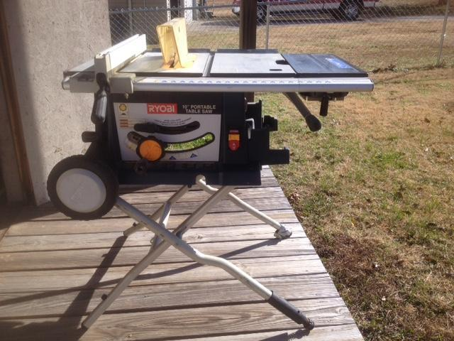 Used Ryobi Portable Table Saw Non Fishing Classifieds Texas Fishing Forum