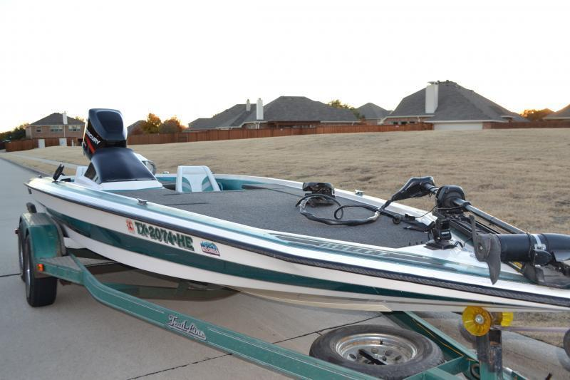 Bullet bass boat trading post swap classifieds texas fishing