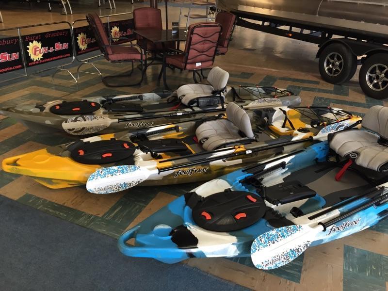 New Feel Free Kayaks In Stock Kayak Fishing Texas