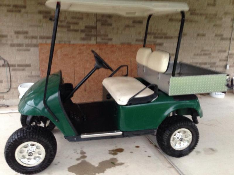 2004 kawasaki 360 for sale and a 2000 golf cart non for Fishing carts for sale