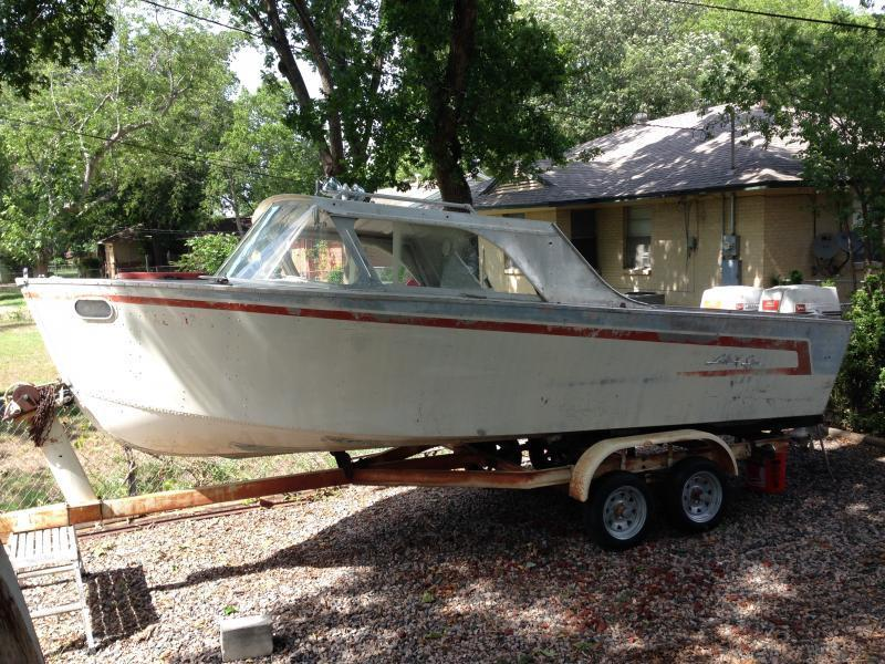 1960 lone star with original twin johnson 40 39 s price drop for Fishing boats for sale craigslist