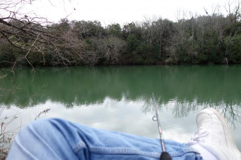 Fished the last stocking of the season blanco state park for Blanco state park fishing