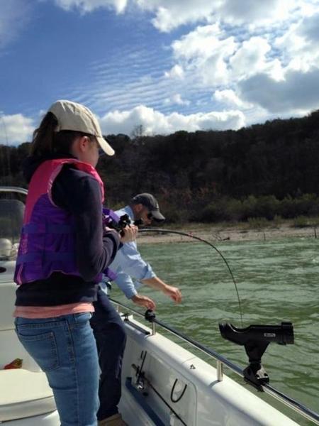 First time lake belton whites hybrids striper for Belton lake fishing