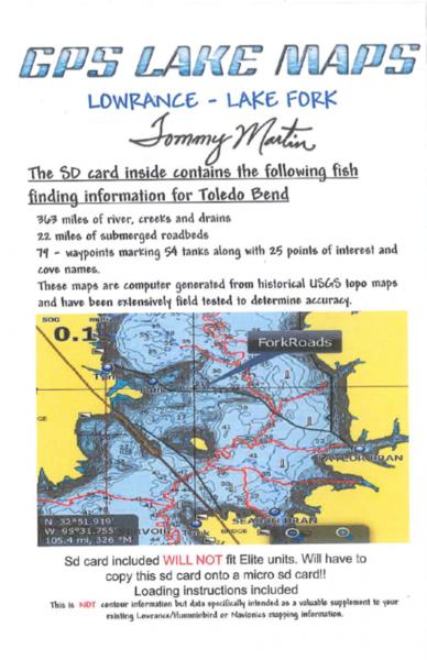 Lake fork map bass fishing texas fishing forum for Toledo bend fishing map