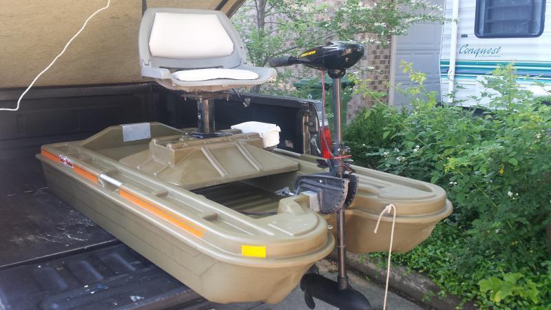 Bass tracker bantam i trading post swap classifieds for 1 man fishing boat