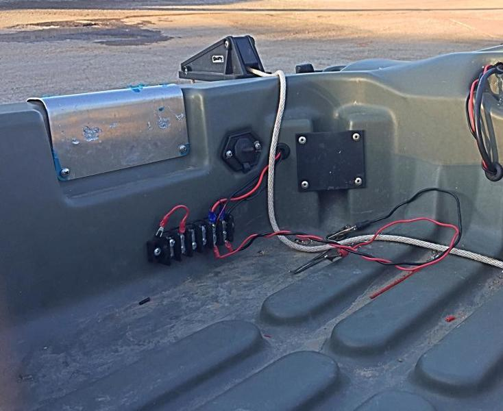 Running Wires Through Pelican Bass Raider E10 Pond Boats