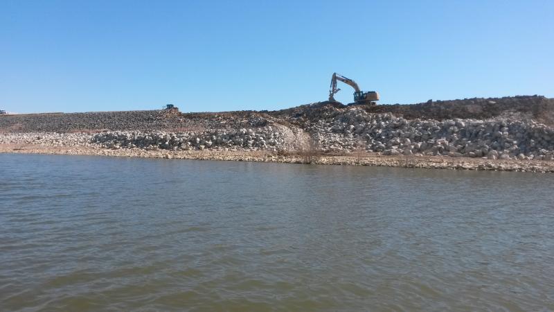 Lewisville dam repair off topic texas fishing forum for Lake lewisville fishing