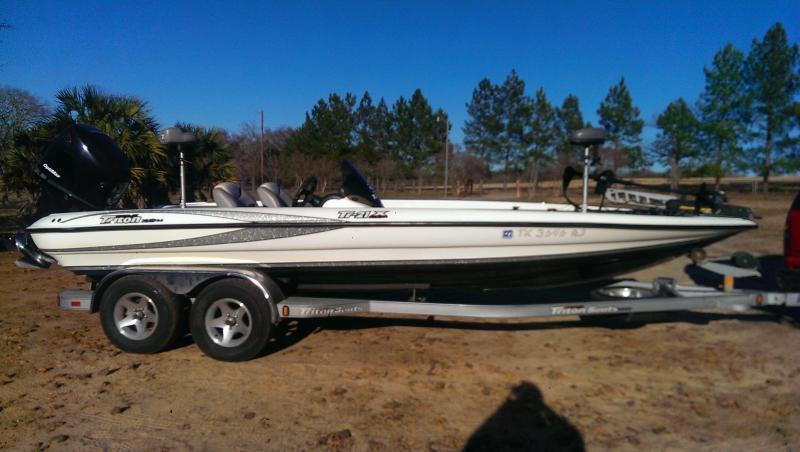 2005 triton 21x w 225 mercury w pics boats 4 sale for Texas fishing forum boats for sale