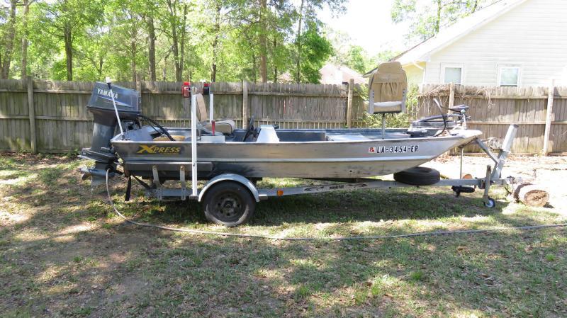 Angler Boat Throttle Control : Alumaweld xpress boat with yamaha hp sold boats