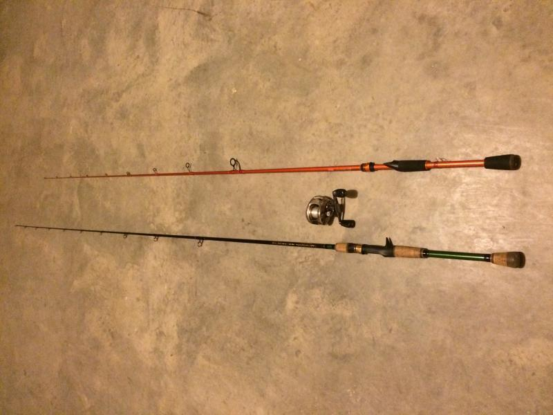 Rods tfo carrot stix and reel johnny morris for sale for Carrot stick fishing rod