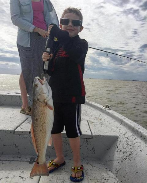 Windy fishing in galveston red fish flounder drum for Galveston fishing reports