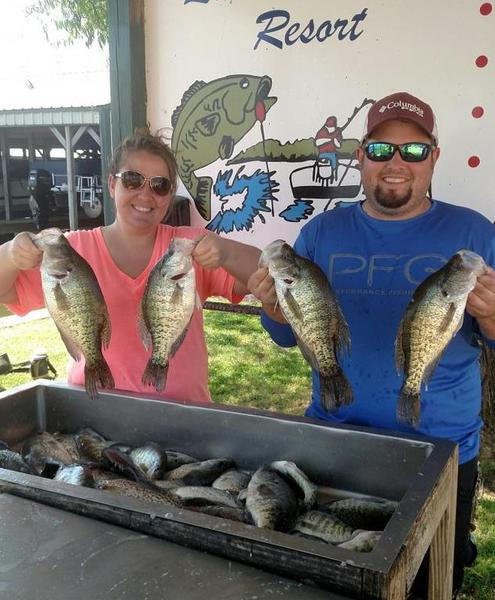 Her first crappie on a jig crappie fishing texas for Crappie fishing in texas