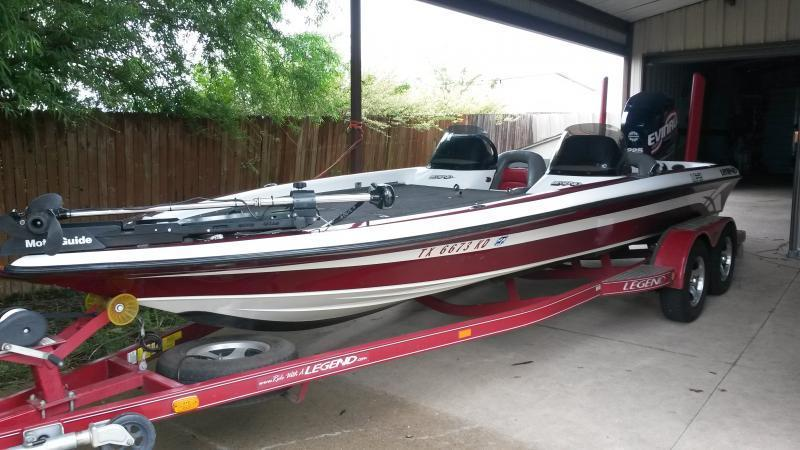 2005 legend le 21 for sale price reduced trading for Lowrance hook 7 trolling motor mount