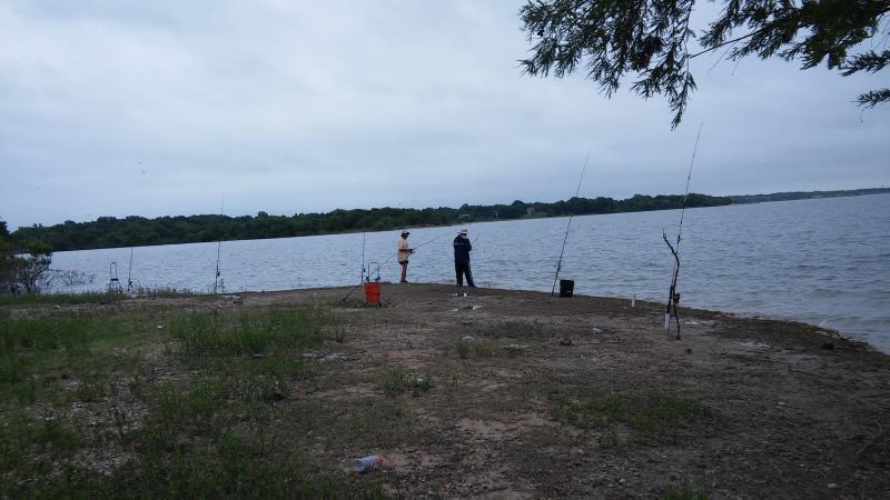 Lavon lake and dam 2016 bank fishing texas fishing forum for Lake lavon fishing
