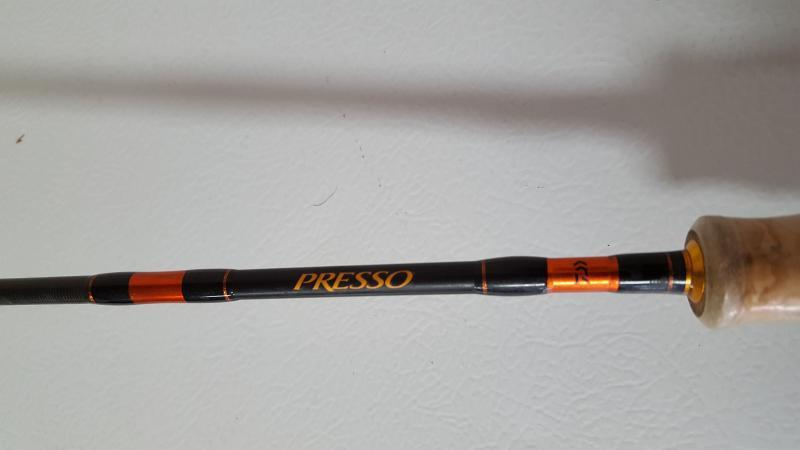 Daiwa presso ultralight spinning rods trading post for Best ultralight fishing rod