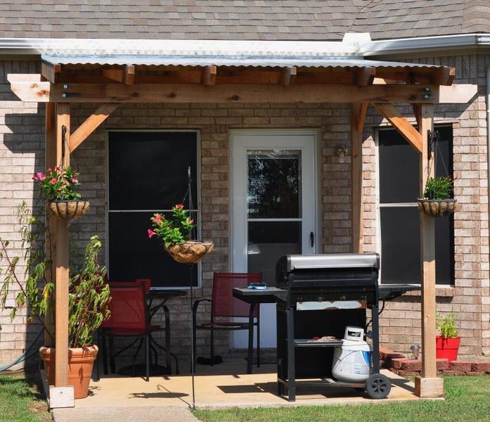 Pergola Off Of An Existing Covered Porch: Pergola Vs Covered Patio