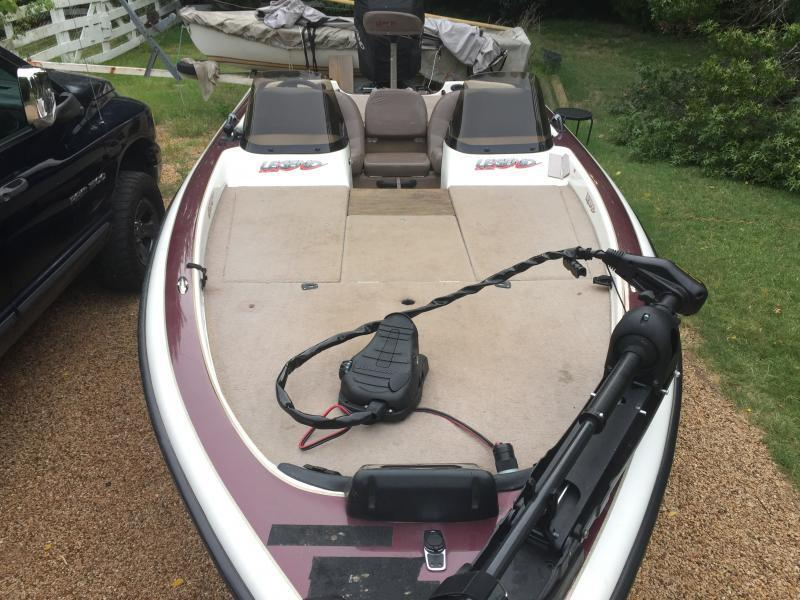 Angler Boat Throttle Control : Price reduced legend le  boats sale