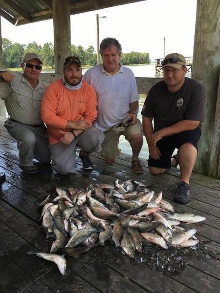 lake livingston doing some fishing report