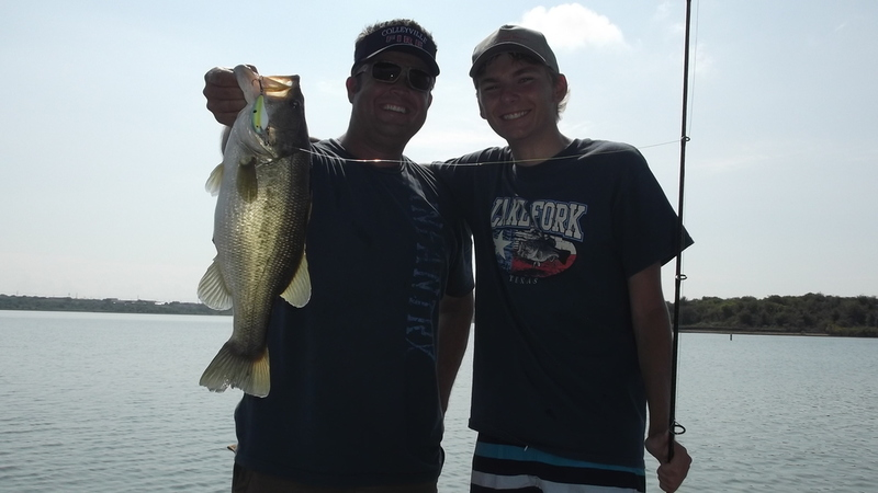 Further dates for the boy from belgium bass fishing for Lake lewisville fishing