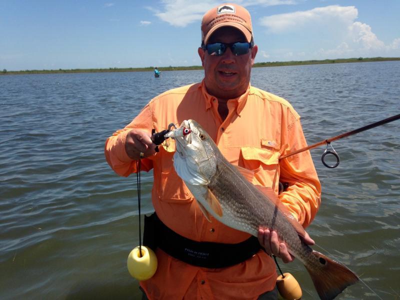 Wade fishing report 8 27 16 seadrift tx inshore for Fishing reports texas