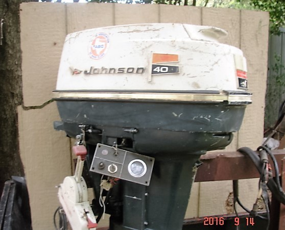 1970 Johnson Outboard 40 Hp For Sale Sold Trading Post