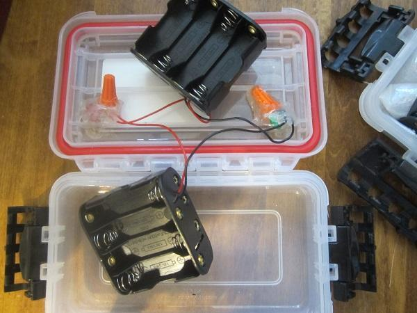 Aa batteries for a bigger fish finder rigging texas for Fish finder battery