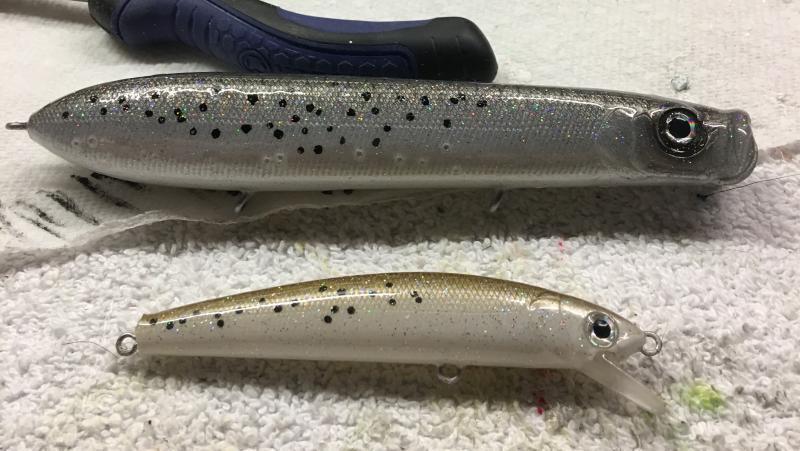 Speckled trout building lures pouring plastics texas for Speckled trout fishing lures