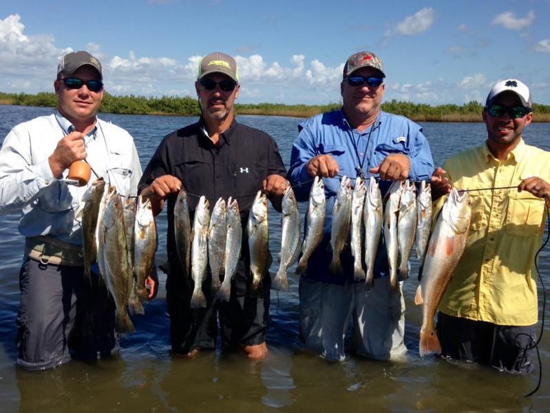 Weekend wade fishing report seadrift tx inshore for Fishing report texas