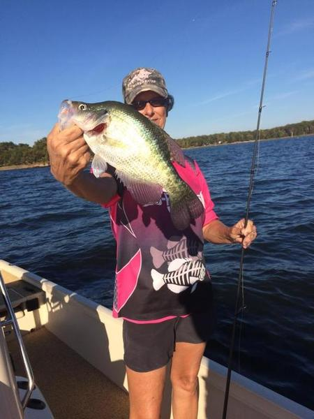 Trick or treat crappie fishing texas fishing forum for Crappie fishing texas