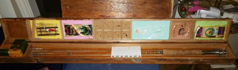Vintage Japanese Split Bamboo Fly Rod Fs Fly Fishing Classifieds