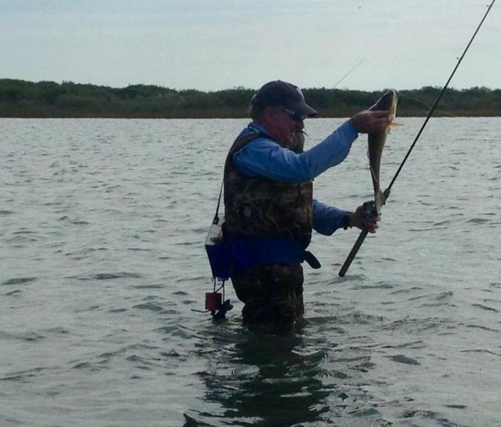 Weekend wade fishing report seadrift tx 11 12 16 for Fishing reports texas