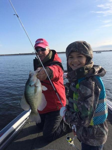 My son catches mega crappie while i catch the dinks for Crappie fishing texas